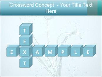 Water Tulip PowerPoint Template - Slide 82