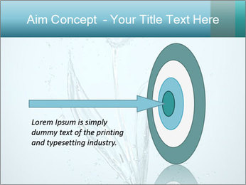 Water Tulip PowerPoint Template - Slide 83
