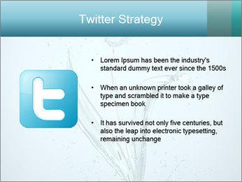 Water Tulip PowerPoint Template - Slide 9