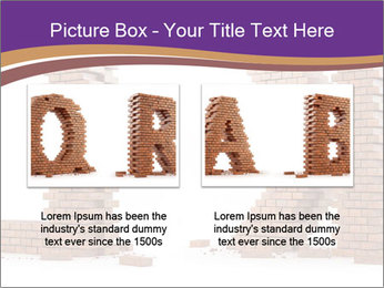 Letters Made of Bricks PowerPoint Templates - Slide 18