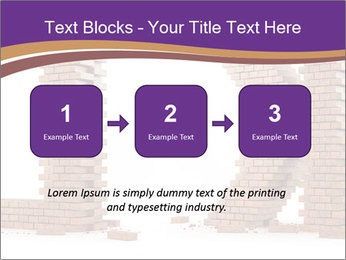Letters Made of Bricks PowerPoint Templates - Slide 71