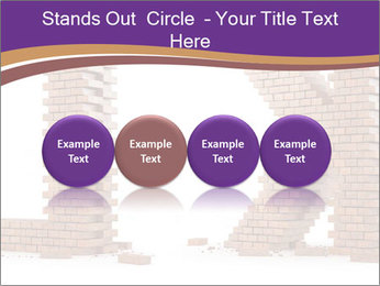 Letters Made of Bricks PowerPoint Templates - Slide 76