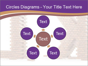 Letters Made of Bricks PowerPoint Templates - Slide 78