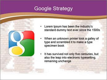 3D Letter Bricks PowerPoint Template - Slide 10