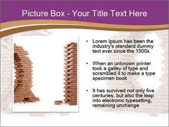 3D Letter Bricks PowerPoint Template - Slide 13
