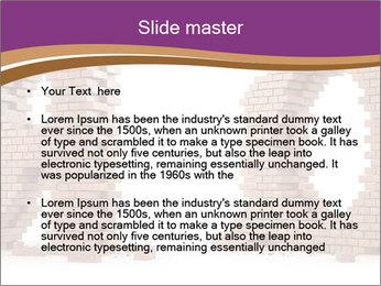 3D Letter Bricks PowerPoint Template - Slide 2