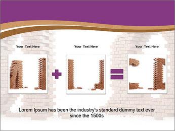 3D Letter Bricks PowerPoint Template - Slide 22
