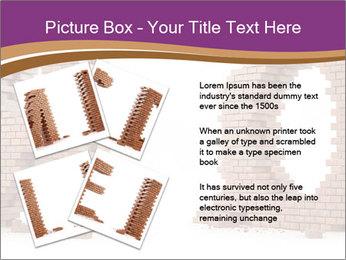 3D Letter Bricks PowerPoint Template - Slide 23