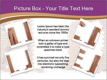 3D Letter Bricks PowerPoint Template - Slide 24