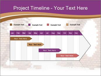 3D Letter Bricks PowerPoint Template - Slide 25