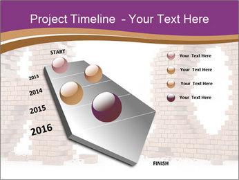 3D Letter Bricks PowerPoint Template - Slide 26