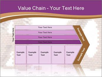 3D Letter Bricks PowerPoint Template - Slide 27