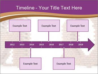 3D Letter Bricks PowerPoint Template - Slide 28