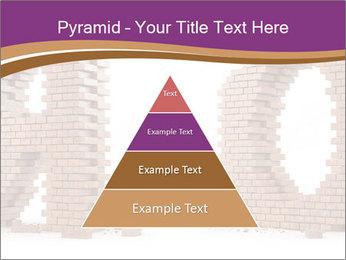 3D Letter Bricks PowerPoint Template - Slide 30