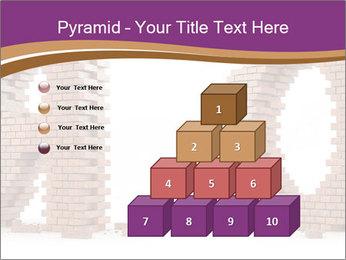 3D Letter Bricks PowerPoint Template - Slide 31