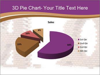 3D Letter Bricks PowerPoint Template - Slide 35