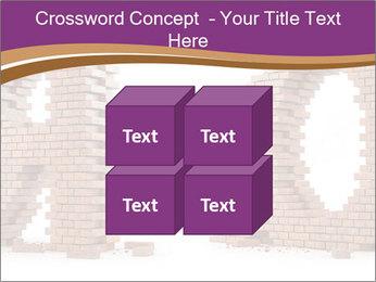 3D Letter Bricks PowerPoint Template - Slide 39