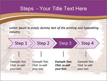 3D Letter Bricks PowerPoint Template - Slide 4