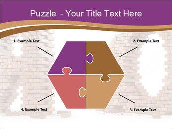 3D Letter Bricks PowerPoint Template - Slide 40