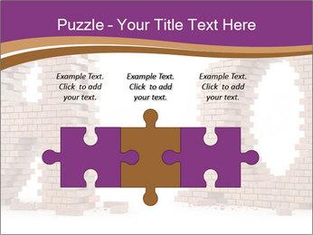 3D Letter Bricks PowerPoint Template - Slide 42