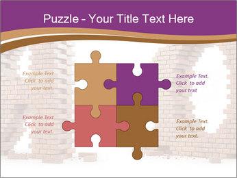 3D Letter Bricks PowerPoint Template - Slide 43