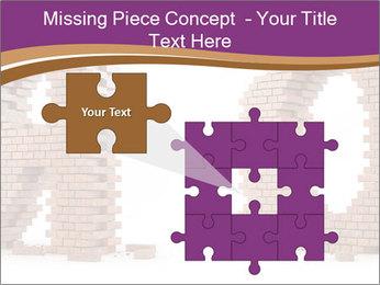 3D Letter Bricks PowerPoint Template - Slide 45
