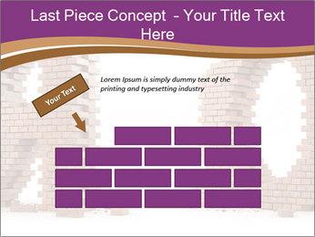 3D Letter Bricks PowerPoint Template - Slide 46