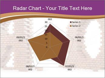 3D Letter Bricks PowerPoint Template - Slide 51