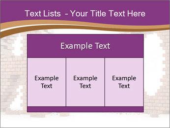3D Letter Bricks PowerPoint Template - Slide 59