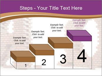 3D Letter Bricks PowerPoint Template - Slide 64