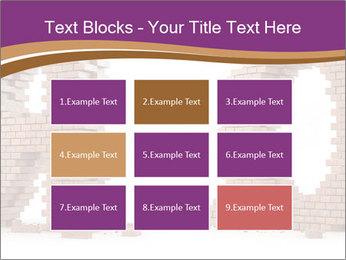 3D Letter Bricks PowerPoint Template - Slide 68