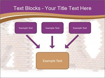 3D Letter Bricks PowerPoint Template - Slide 70