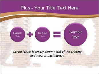 3D Letter Bricks PowerPoint Template - Slide 75
