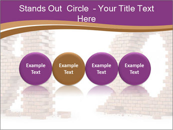 3D Letter Bricks PowerPoint Template - Slide 76