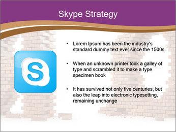 3D Letter Bricks PowerPoint Template - Slide 8