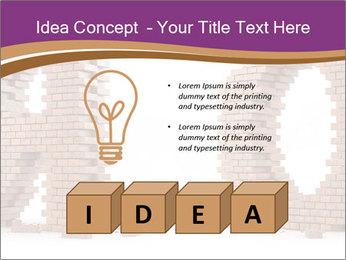 3D Letter Bricks PowerPoint Template - Slide 80