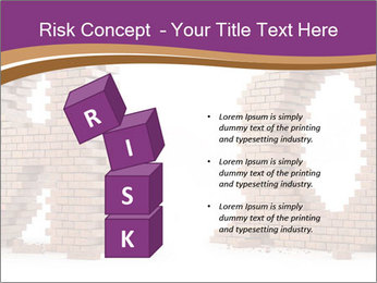 3D Letter Bricks PowerPoint Template - Slide 81