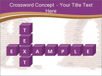 3D Letter Bricks PowerPoint Template - Slide 82