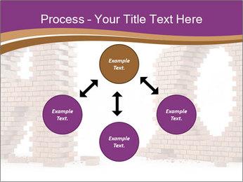 3D Letter Bricks PowerPoint Template - Slide 91