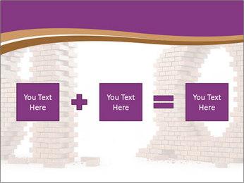 3D Letter Bricks PowerPoint Template - Slide 95