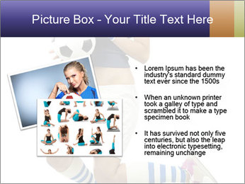 Soccer Girl Holding Ball PowerPoint Template - Slide 20