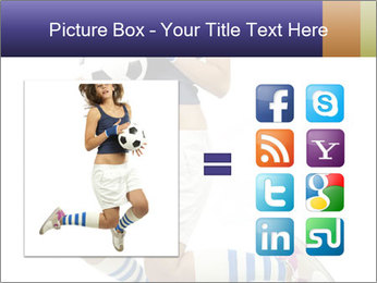 Soccer Girl Holding Ball PowerPoint Template - Slide 21