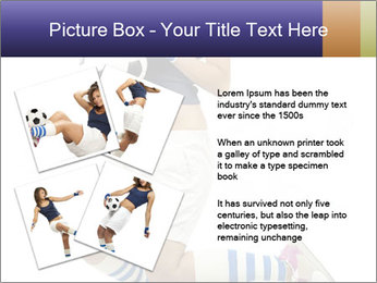 Soccer Girl Holding Ball PowerPoint Template - Slide 23