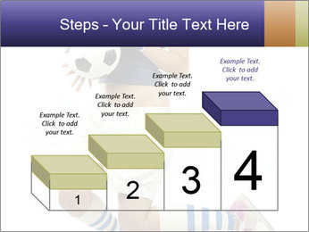 Soccer Girl Holding Ball PowerPoint Template - Slide 64