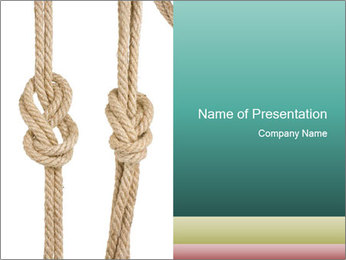 Two Knots PowerPoint Templates - Slide 1