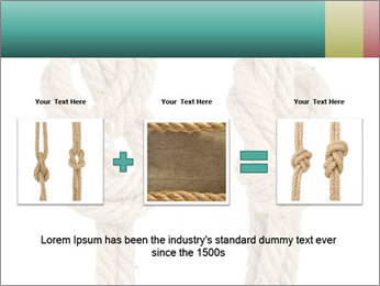 Two Knots PowerPoint Templates - Slide 22