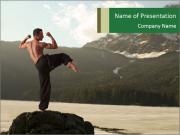 Martial Arts Scenery PowerPoint Templates