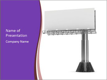 Billboard Model PowerPoint Template - Slide 1