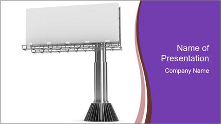 Billboard Model PowerPoint Template