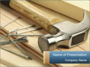 Hammer and Nails PowerPoint Templates